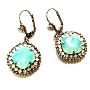 Sorrelli Pacific Opal Crystal drop earrings